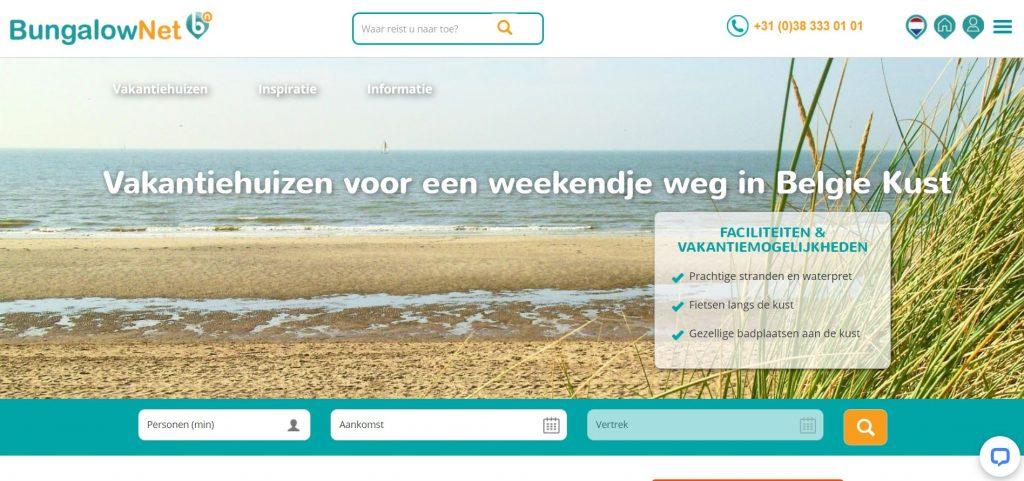 Bungalow.net: uitgebreid aanbod van kwalitatieve en goedkope vakantiehuizen aan zee