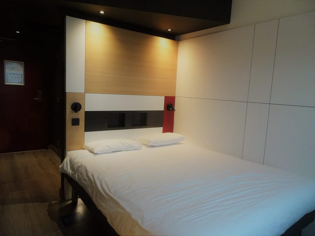 Hotelkamer in het Ibis Budget Oostende Airport hotel