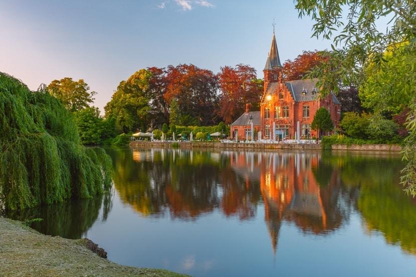 Minnewaterpark in Brugge